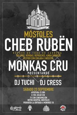 Cheb Rubën y Monkas Cru en Móstoles