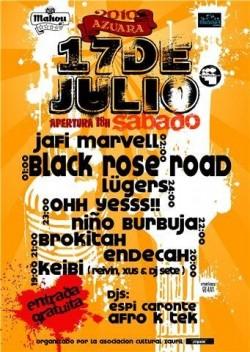 Concierto Hip Hop Azuara 2010 (Zaragoza)