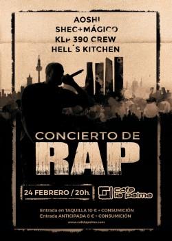 Concierto de Rap en Madrid