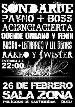 Concierto de Rap en Sala Zona (PTVD)
