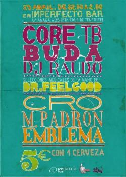 Core TB & Buda en Tenerife en Santa Cruz De Tenerife