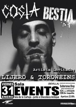 """Costa presenta """"Bestia"""" en Sevilla"""