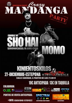 Crazy Mandanga Party en Estepona