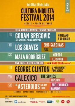 Cultura Inquieta Festival 2014 - Día de Rap en Getafe