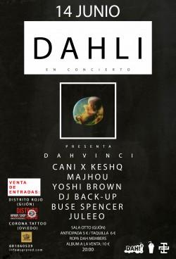 "Dahli presenta ""Dahvinci"" en Gijón"
