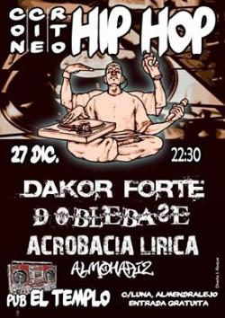 Dakor Forte, Doblebase, Acrobacia lirica y Almohariz en Almendralejo