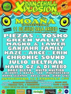 Dancehall Xplosion Fest Summer Edition en Moaña