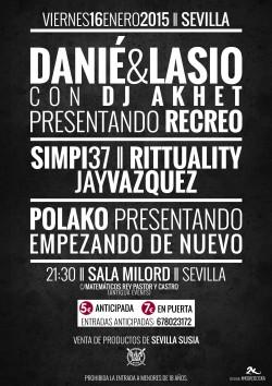 Danié & Lasio en Sevilla