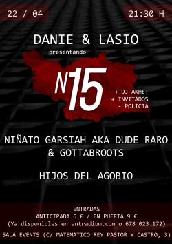 """Danié & Lasio presentan """"N15"""" en Sevilla"""