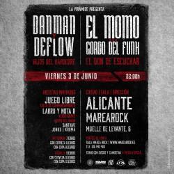 Danman, Deflow, El Momo, Gordo Del Funk y más en Alicante