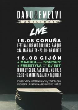 """Dano & Emelvi presentan """"Equilibrio"""" en Gijón"""