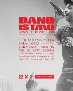 """Dano presenta """"Istmo"""" en Zaragoza"""