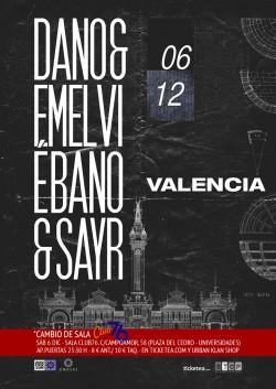 Dano y Emelvi en Valencia