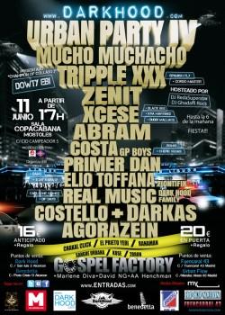 Darkhood Urban Party IV en Madrid en Móstoles