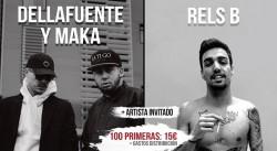 Dellafuente, Maka y Rels B. en Valencia