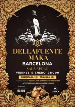 Dellafuente y Maka en Barcelona