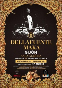 Dellafuente y Maka en Gijón