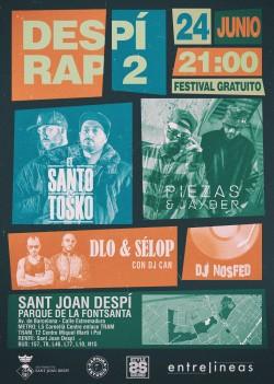 Despi Rap 2 en Sant Joan Despi