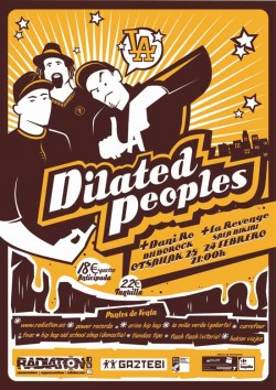 Dilated Peoples en Barcelona