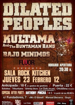Dilated peoples en Madrid