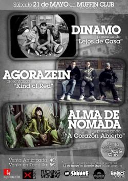 Dinamo, Agorazein y Alma de nomada en Zaragoza