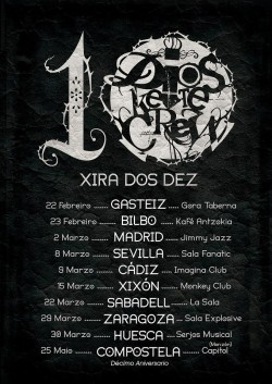 """Dios ke te crew """"Xira dos dez"""" en Gijón"""