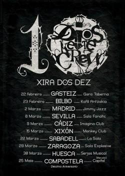 """Dios ke te crew """"Xira dos dez"""" en Sabadell"""