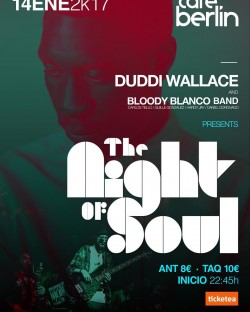 Duddi Wallace & Bloody Blanco band en Madrid