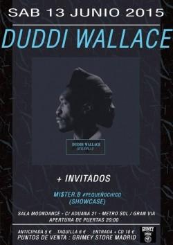 """Duddi Wallace presenta """"Roleplay"""" en Madrid"""