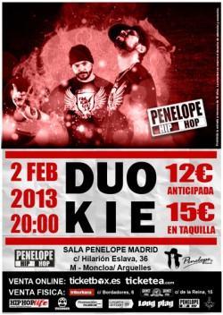Duo Kie en Madrid