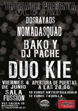Duo Kie en concierto en Fussion (Valencia) en Valencia