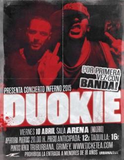 """Duo Kie fin de gira """"Inferno"""" con Banda en Madrid"""