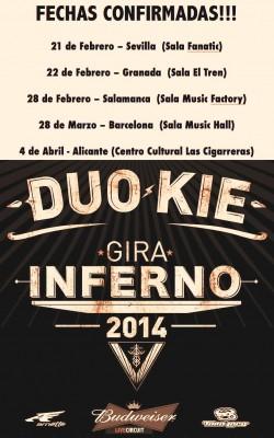 """Duo Kie presenta """"Inferno"""" en Alicante"""
