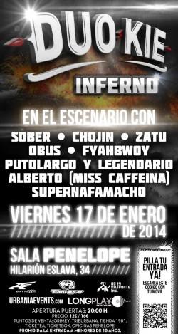 """Duo Kie presenta """"Inferno"""" en Madrid"""