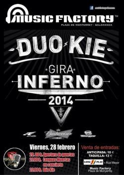 """Duo Kie presenta """"Inferno"""" en Salamanca"""