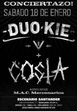 Duo Kie y Costa en Santander