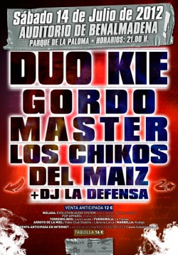 Duo kie y Gordo Master en Benalmadena