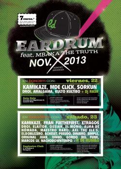Eardrum, Kamikaze, MBaka, MDE Click y más en Lasarte-oria