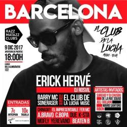 El Club de la Lucha tour en Barcelona