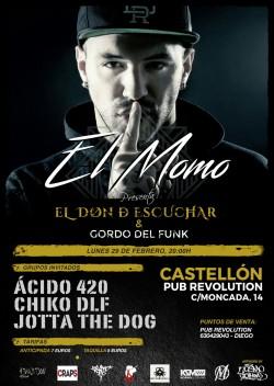 El Momo & Gordo del Funk en Castellón