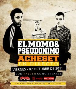 El Momo & Pseudonimo en Madrid