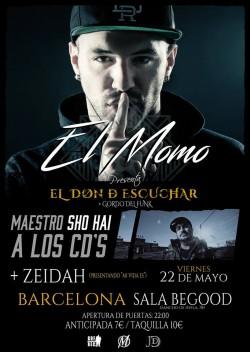 El Momo, Zeidah y Sho-Hai en Barcelona