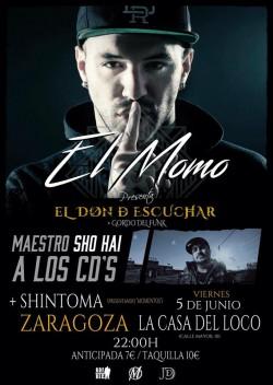 """El Momo con """"El don de escuchar"""" en Zaragoza"""