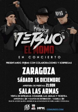 """El Momo presenta """"Tetsuo"""" en Zaragoza"""