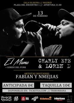 El Momo y Charly Efe en Madrid