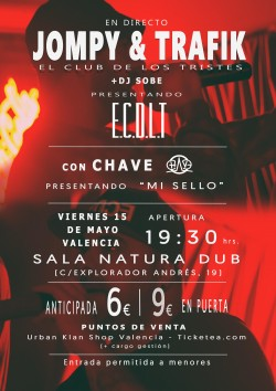 El club de los tristes, Dj Sobe y Chave en Valencia