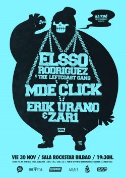 El$$o, MDE Click y Erik Urano en Bilbao