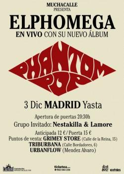 Elphomega en Madrid