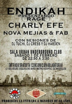 Endikah, Charly Efe, Nova Mejias, Fab y más en Madrid