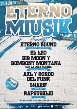 Eterno musik party en Zaragoza